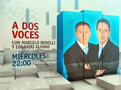 A DOS VOCES - MIÉRCOLES 22 HS POR TN