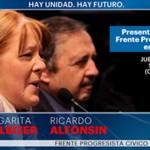 PRESENTACIÓN EN LA PLATA DEL FRENTE PROGRESISTA CÍVICO Y SOCIAL