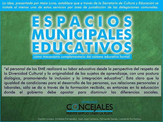 Espacios Municipales Educativos