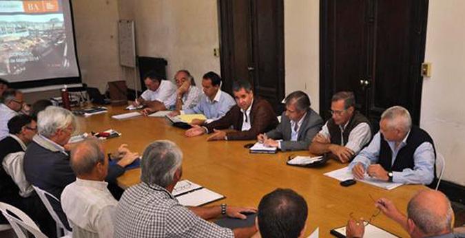 reunión de COPROSA (COMISIÓN PROVINCIAL DE SANIDAD ANIMAL)
