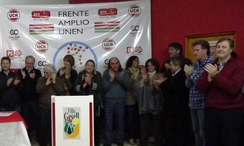 LANZAMIENTO DEL FRENTE AMPLIO UNEN VILLA GESELL