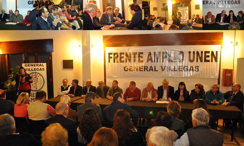 SE CONFORMO EL FRENTE AMPLIO UNEN EN GENERAL VILLEGAS