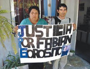Justicia por Fabían Gorosito