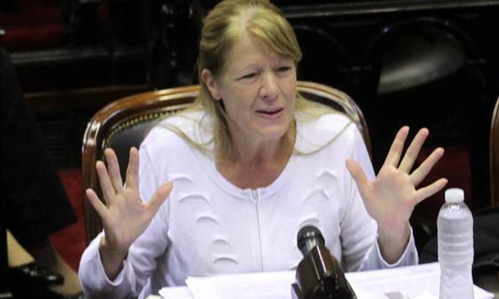 La diputada Margarita Stolbizer expresó que el oficialismo vino a perder la votación para montar un show electoral agitando el fantasma que les permite no hablar de la realidad social.