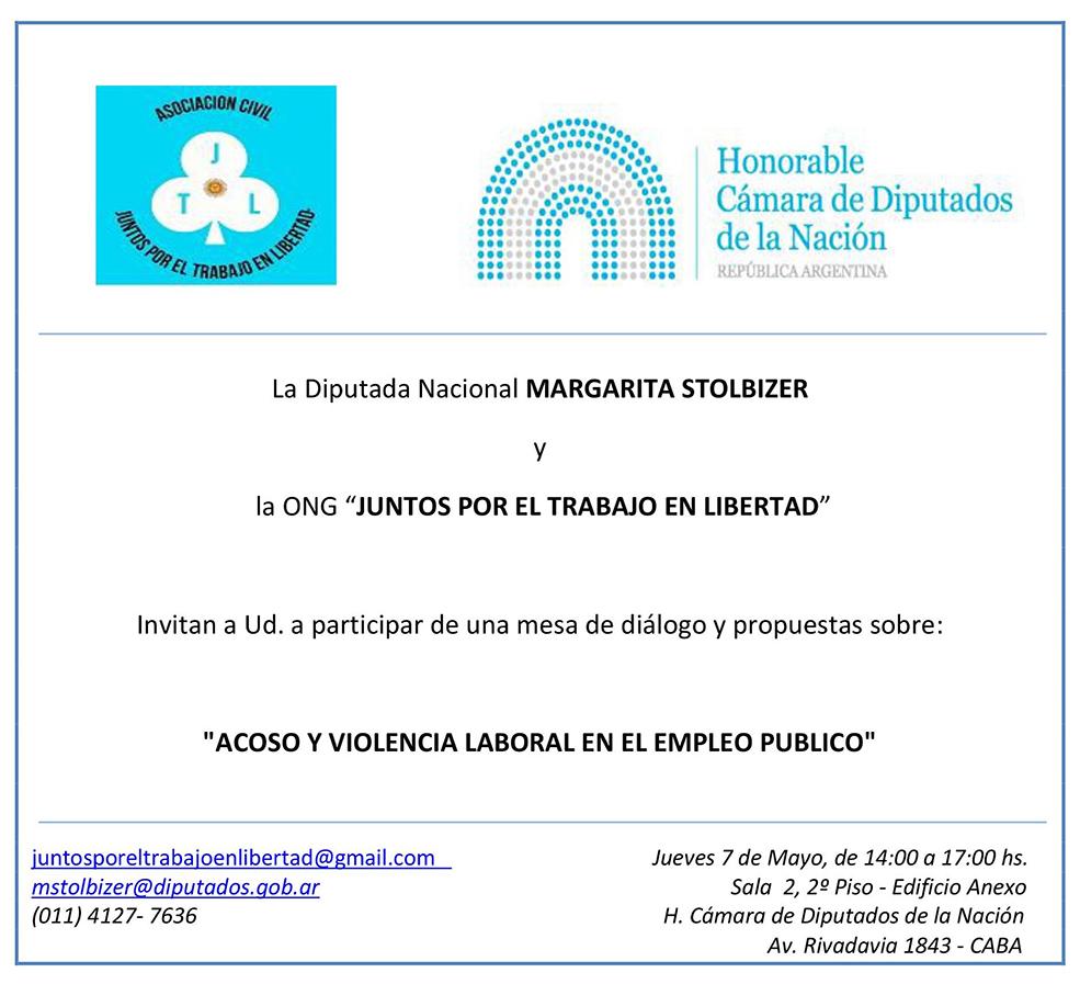 INVITACIÓN JORNADA 7 DE MAYO