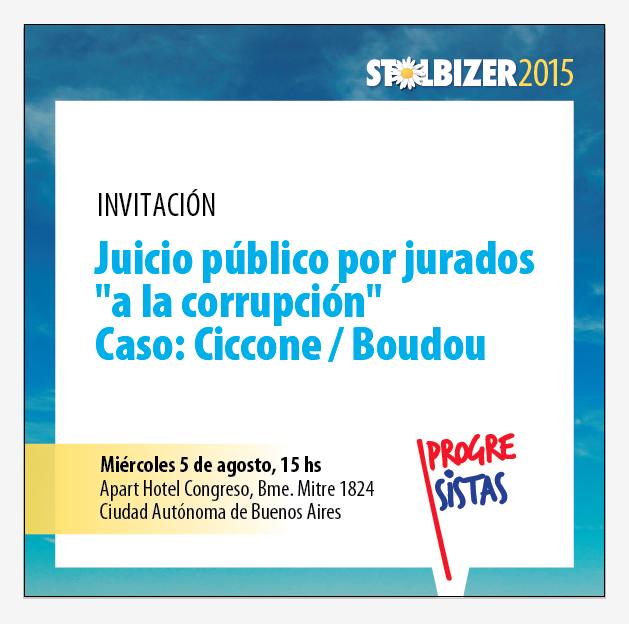 Invitacion Juicio Público por jurados a la corrupción