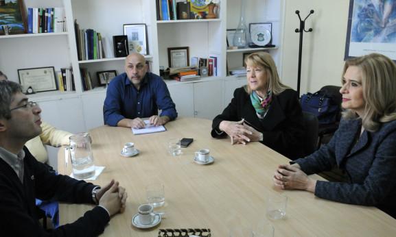 STOLBIZER SE REUNIÓ HOY CON LA SENADORA SILVIA ELIAS DE PEREZ PARA ANALIZAR LA SITUACIÓN DE LA PROVINCIA DE TUCUMÁN