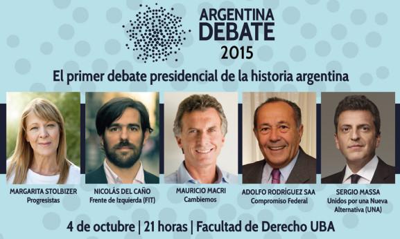 ARGENTINA DEBATE 2015