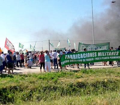 El Partido GEN de la Provincia de Buenos Aires expresa su solidaridad con los más de 280 trabajadores que fueron despedidos de la empresa de Fabricaciones Militares FANAZUL.-