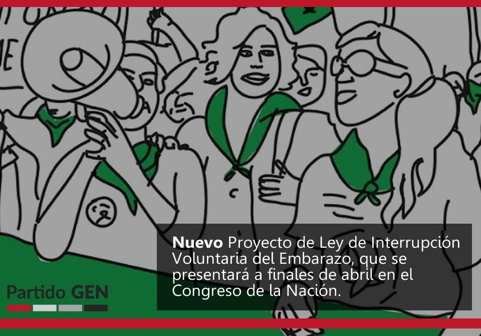 La Campaña Nacional por el derecho al aborto legal, seguro y gratuito, ya tiene el nuevo proyecto que será presentado a finales de abril en el Congreso de la Nación.