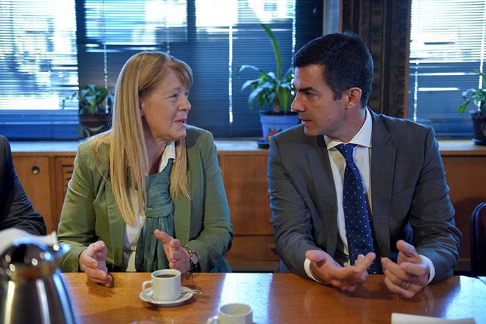 En un nuevo encuentro celebrado en el GEN, Margarita Stolbizer recibió al gobernador de Salta y candidato a la Presidencia Juan Manuel Urtubey.