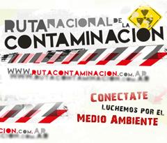 CAMPAÑA MEDIO AMBIENTE: RUTA NACIONAL DE LA CONTAMINACIÓN