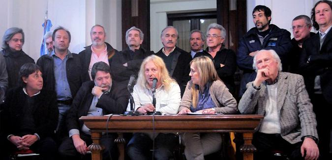 """Solidaridad con el ferroviario Rubén """"Pollo"""" Sobrero"""