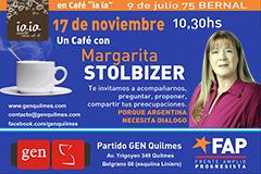 Un café con Margarita