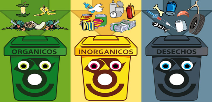 Separación de residuos de origen en edificios públicos