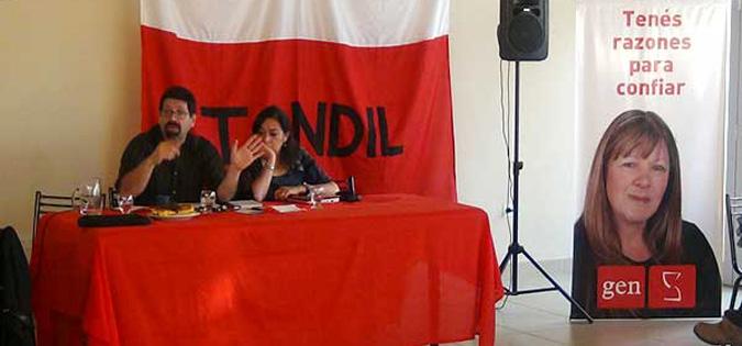 Primer Seminario de Formación Política de la JGEN de Tandil