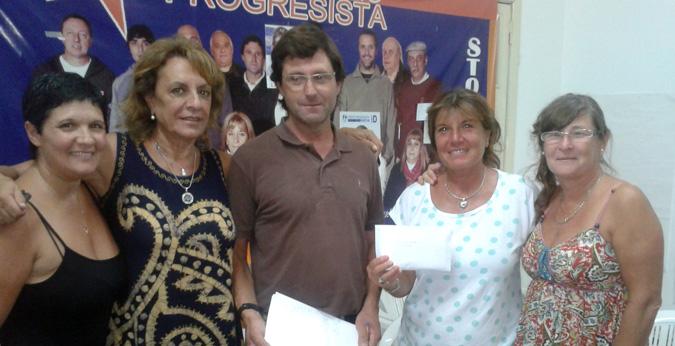 EL FAP DE San Andrés de Giles entregó subsidio a ADEA