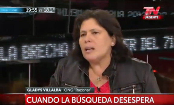 GLADIS VILLALBA DIRECTORA DE LA ONG RAZONAR