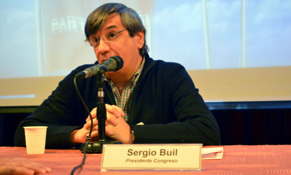 SERGIO BUIL DEJÓ LA PRESIDENCIA DEL CONGRESO NACIONAL DEL GEN