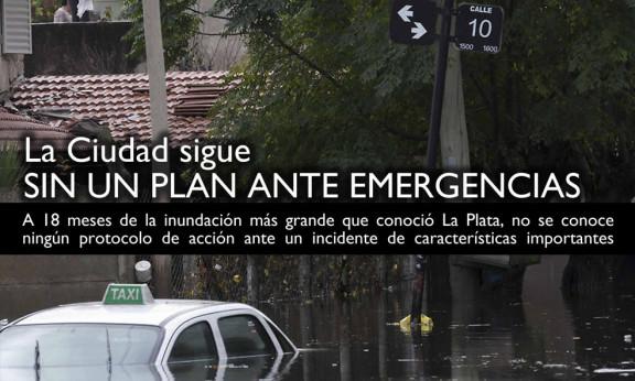 LA CIUDAD SIGUE SIN UN PLAN ANTE EMERGENCIAS