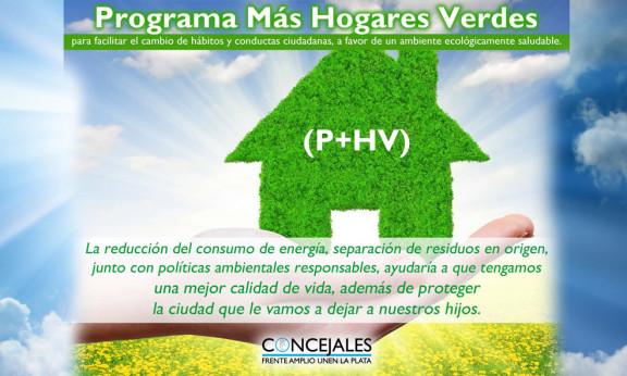 PROGRAMA MÁS HOGARES VERDES
