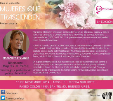 LIDERAZGO Y PARTICIPACIÓN POLÍTICA FEMENINA