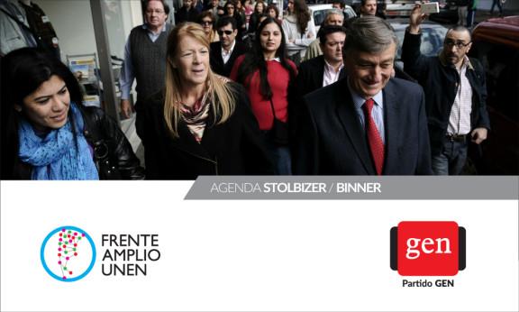 Actividades 03/11/2014 AGENDA STOLBIZER  / BINNER