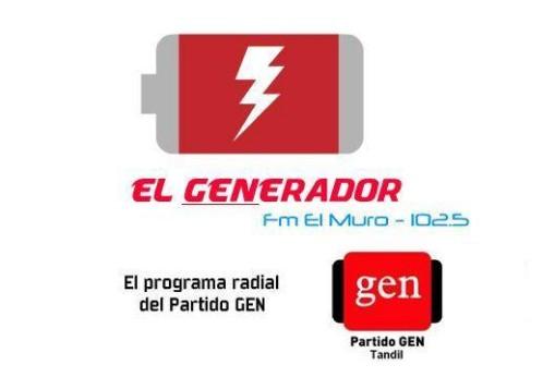 """""""El GENERADOR"""" por la 102.5 Radio FM El Muro Tandil"""