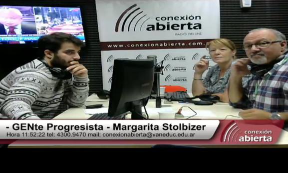 "PRIMER PROGRAMA DE RADIO ""GENTE PROGRESISTA"" 16/04/2015"