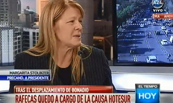 Margarita Stolbizer en América 24 con facundo Pastor 17/07/2015