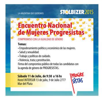ENCUENTRO NACIONAL DE MUJERES PROGRESISTAS