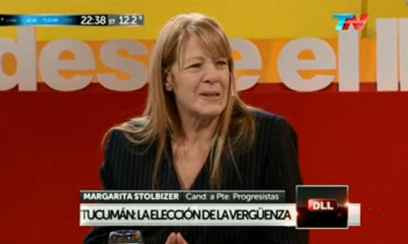 MARGARITA STOLBIZER EN DESDE EL LLANO 24/08/2015