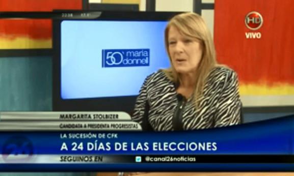 MARGARITA STOLBIZER CON MARIA O DONNELL 01/10/2015