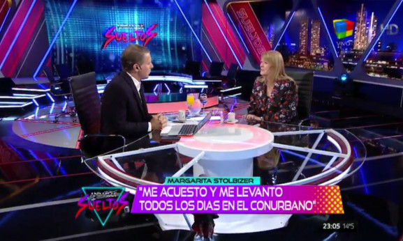 Margarita Stolbizer en Animales Sueltos con Alejandro Fantino 14/10/2015