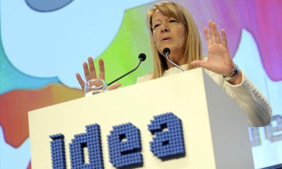 Margarita Stolbizer en Coloquio IDEA 2015