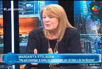 MARGARITA STOLBIZER EN LA CORNISA 29/5/16