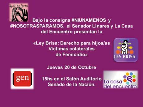 """LINARES Y LA CASA DEL ENCUENTRO PRESENTAN EL PROYECTO DE """"LEY BRISA"""""""