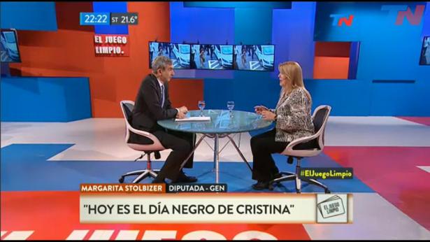 Margarita Stolbizer en EL JUEGO LIMPIO 03/11/16
