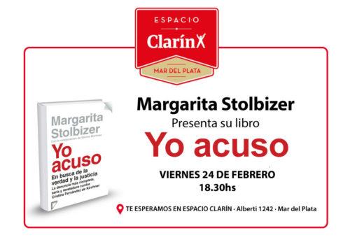 Stolbizer en ESPACIO CLARIN
