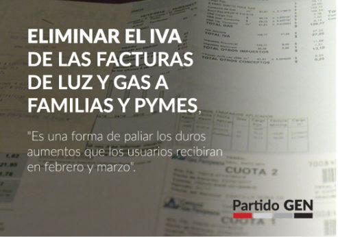 27/3 en Mar del Plata Conferencia de Prensa sobre Eliminación del IVA en Facturas de Luz y Gas