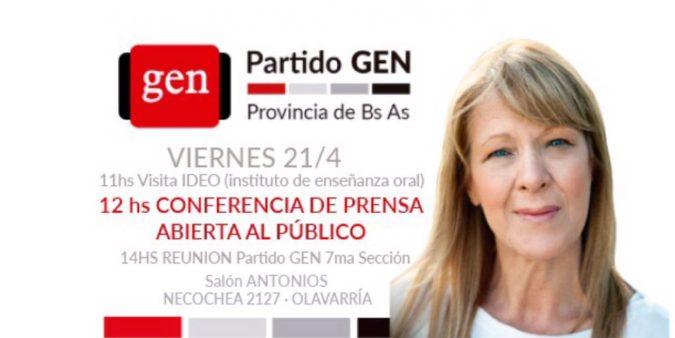 VIERNES 21/4 12HS STOLBIZER EN OLAVARRIA