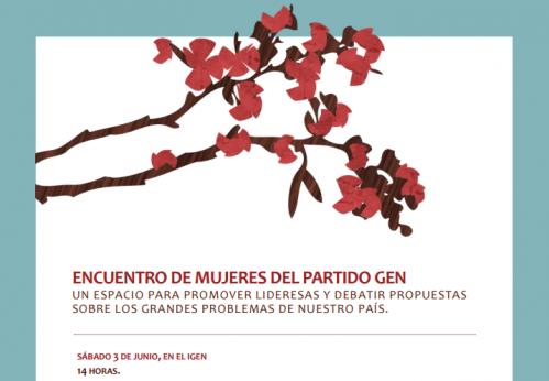ENCUENTRO DE MUJERES DEL GEN 3/6 14HS IGEN