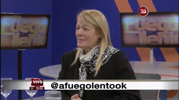 Margarita Stolbizer en A FUEGO LENTO. Canal 26 06/ 07/ 17