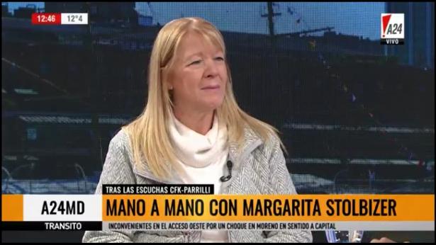 Margarita Stolbizer en A24MD 11/07/17