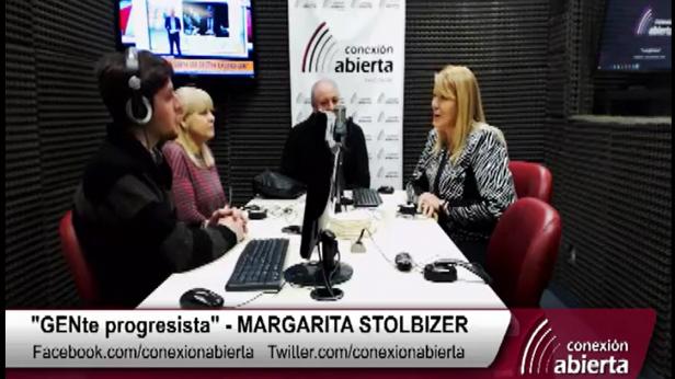 """Margarita Stolbizer en """"GENte PROGRESISTA"""". Radio Conexión Abierta 13/07/17"""