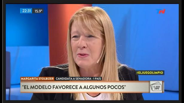 Margarita Stolbizer en EL JUEGO LIMPIO 28/09/17
