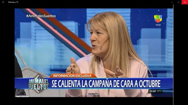 Margarita Stolbizer en ANIMALES SUELTOS 31/08/2017