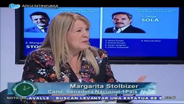 """Margarita Stolbizer en """"ECONOMÍA A HORA"""" 13/09/17"""