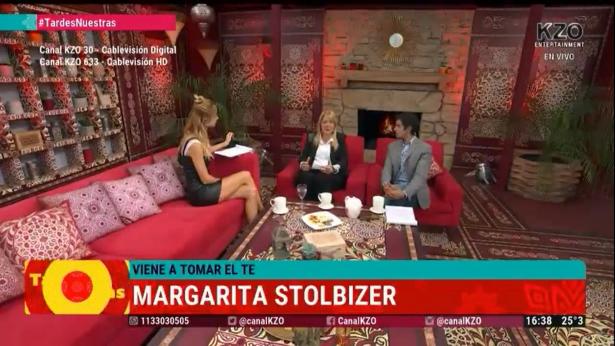 Margarita Stolbizer en TARDES NUESTRAS 4/10/17