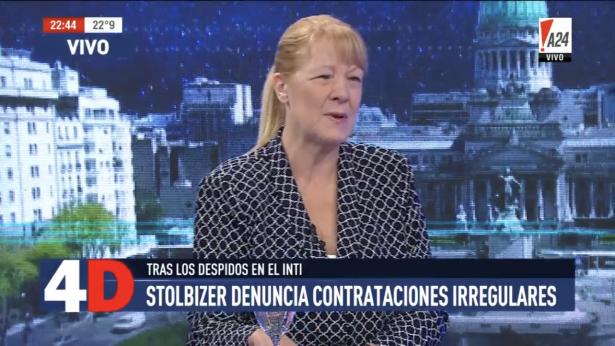 Margarita Stolbizer con LUIS MAJUL en 4D 13/3/18